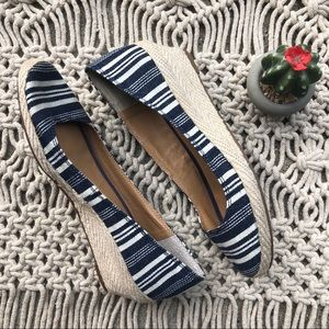 Lucky Brand Shoes Espadrilles Wedge Size 7.5